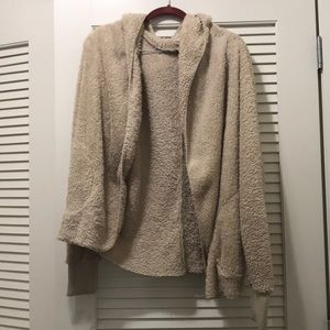 Tan open front Bear Coat